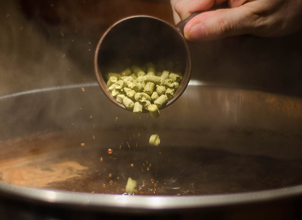 Small Batch Brew - Hop Pellet Addition