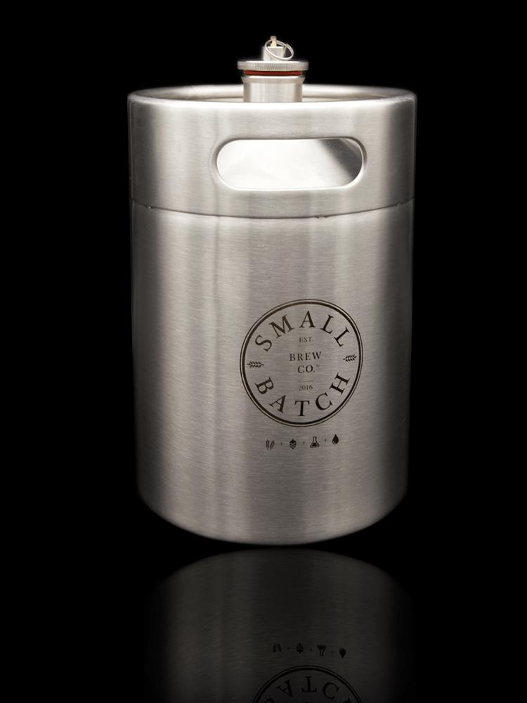 Small Batch Brew - 5 Litre Mini Keg and Carbonation Cap