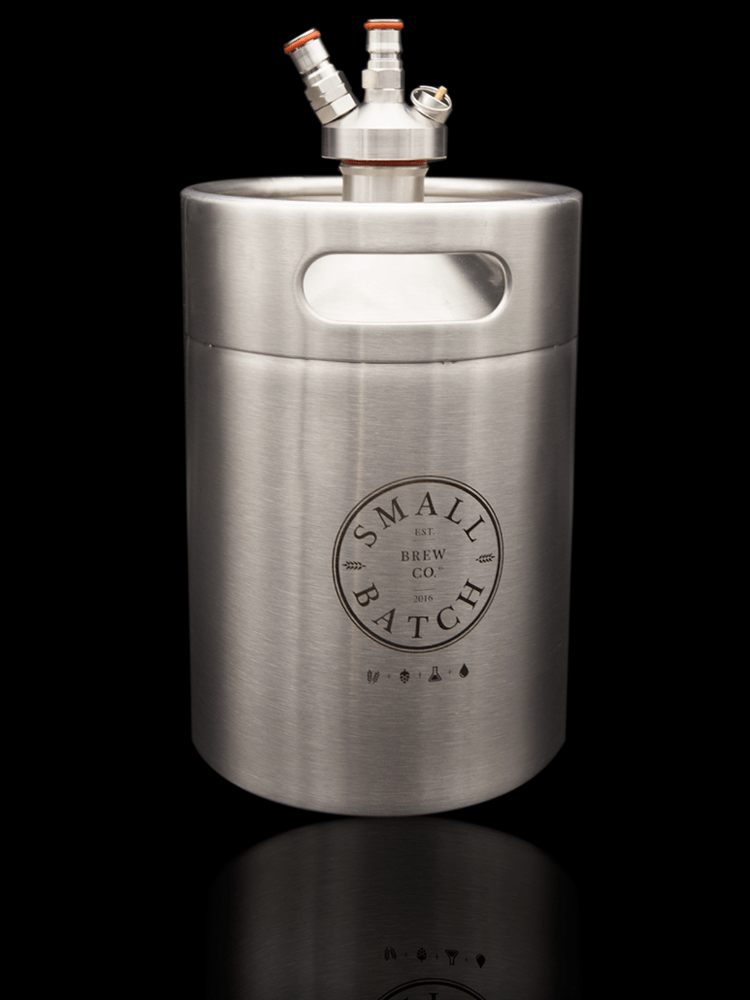 Small Batch Brew - 5 Litre Mini Keg and Double Ball Lock Spear