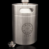 Small Batch Brew - 5 Litre Mini Keg, Carbonation Cap and Double Ball Lock Spear
