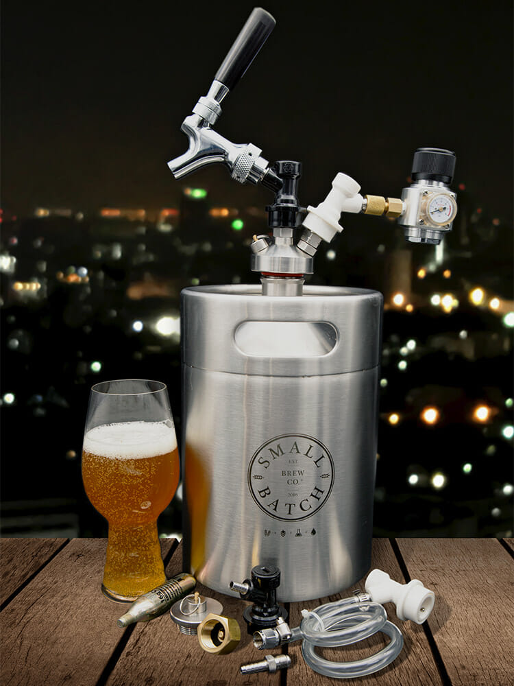 Small Batch Brew - All in One Mini Keg Starter Kit