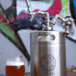 Small Batch Brew - Stainless Steel Mini Keg with Beer