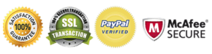 Website Security Guarantee and PayPal Verified