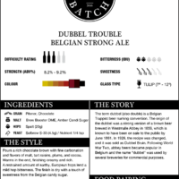 Small Batch Brew Double Trouble Belgian Strong Ale Recipe Kit