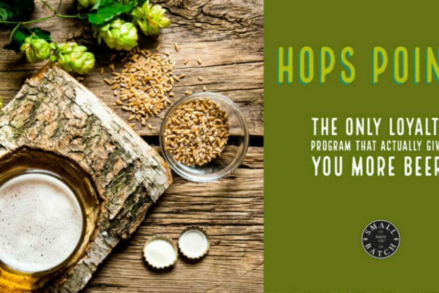 Hops Points = FREE beer