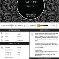 Small Batch Brew - Classic Wheat - Recipe Card