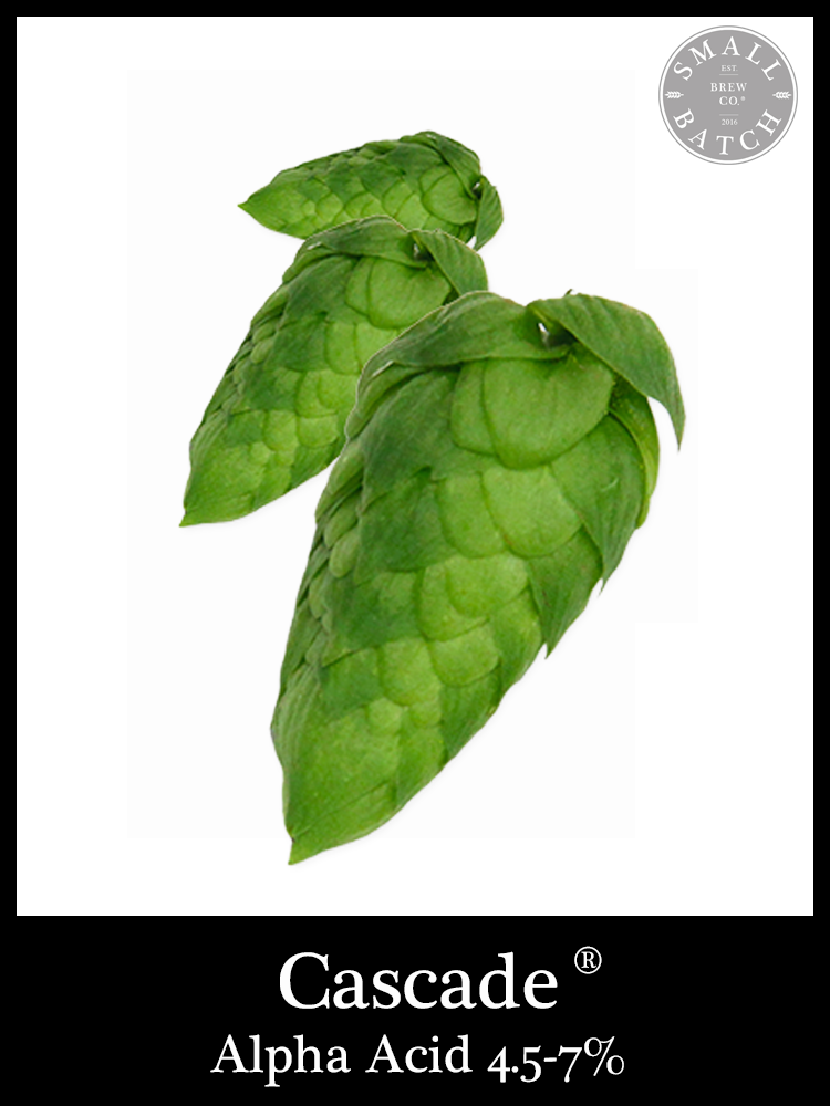 Small Batch Brew Cascade Hops