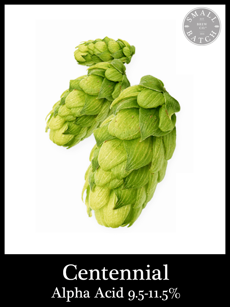 Bulk Centennial Hops 500g - Small Batch Brew