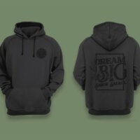 Small Batch Brew Grey and Black Hoodie